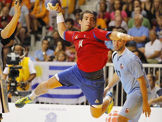 Chile vs Uruguay-Balonmano Masculino