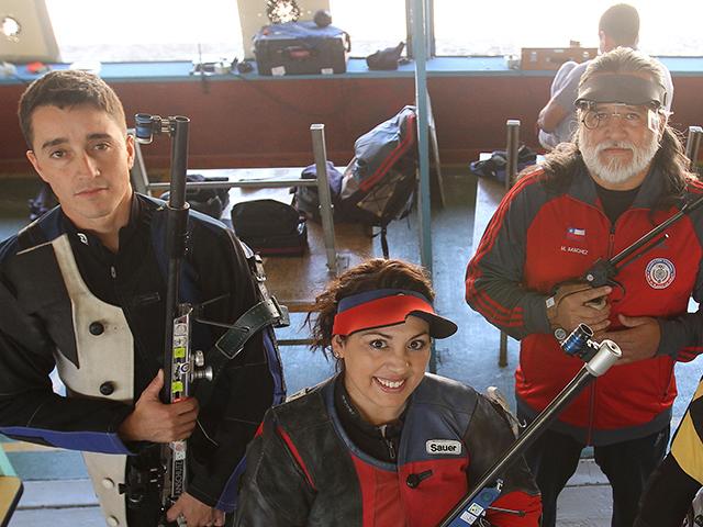 Resultado de imagen para federacion chilena de tiro al blanco