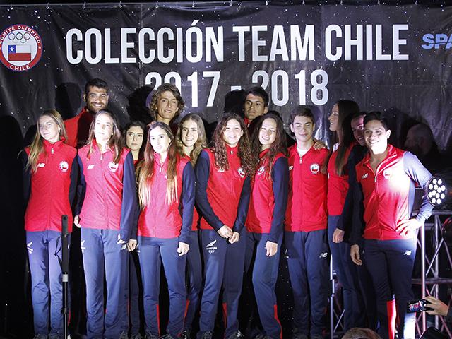 Presentacion Nueva Coleccion 2017-2018 Indumnetaria Team Chile
