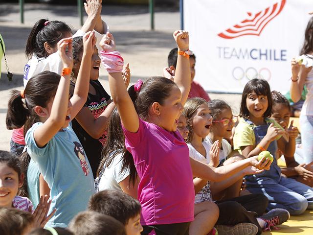 Lanzamiento de la Copa Davis entre Chile vs Ecuador