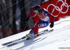 Henrik Von Appen consiguió su mejor registro olímpico en el Súper Gigante