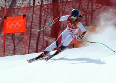 Noelle Barahona consiguió su mejor ubicación olímpica en Pyeongchang