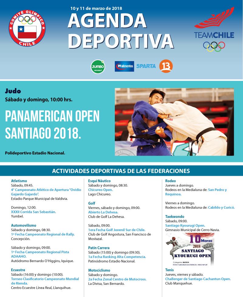 Agenda-deportiva-10-y-11-de-marzo-de-2018